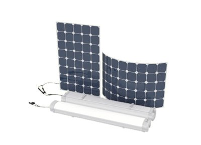 LED Solar Carport Lights