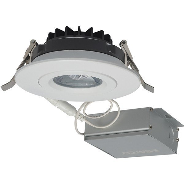 Round Adjustable Downlights with Remote Drivers