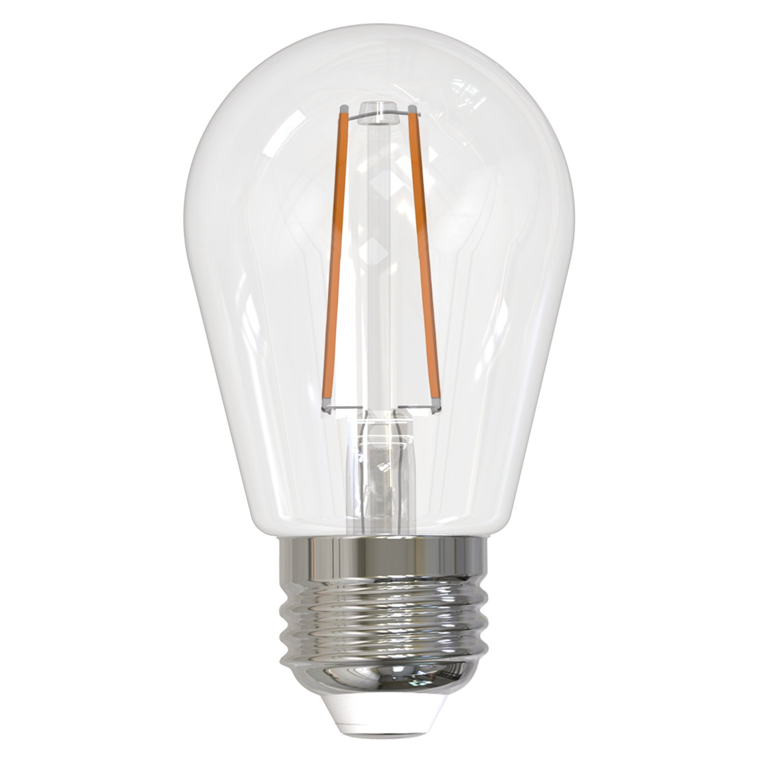 5 Pack Green Base with Medium Screw Bulbrite 861151 35 W Non-Dimmable S14 Shape LED Bulb Incandescent E26