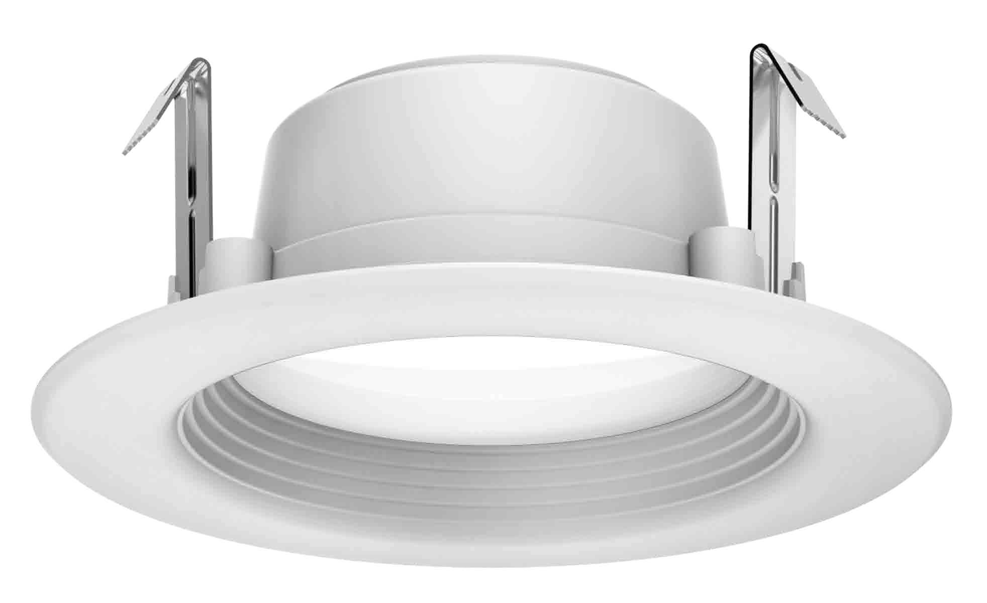 Satco S39716 7 watt LED Downlight Retrofit; 4; 5000K; 120 Volts; Dimmable Replaces S29716 16-Pack